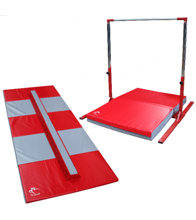 Tall High Bar Adjustable to 190cm & Folding Balance Beam – Club Range