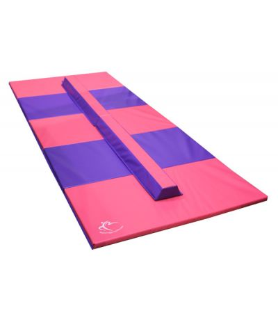 Folding Balance Beam & Large Panel Mat