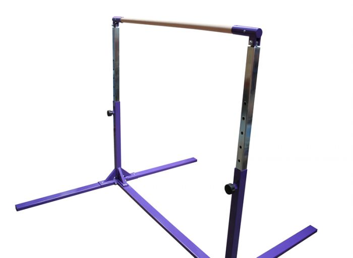 Long Adjustable Chrome Uprights For High Bar