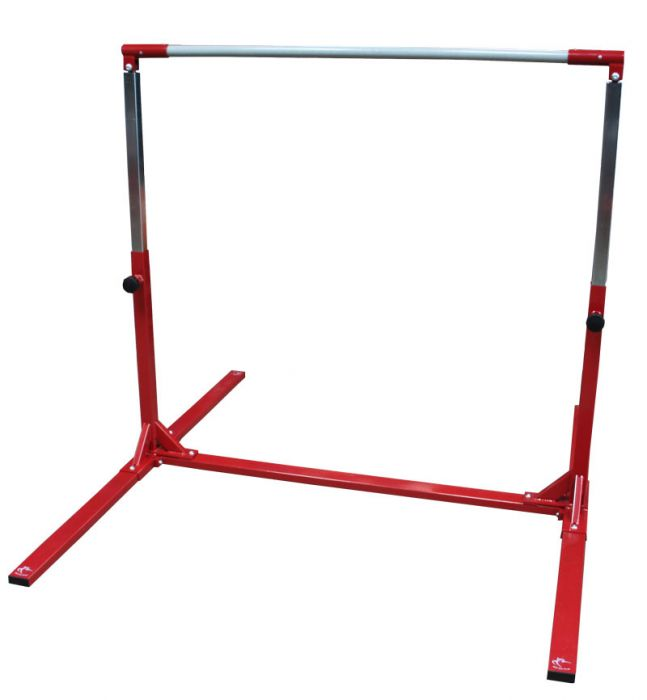 Gymnastics High Bar Adjustable to 150cm & Safety Mat – Club Range
